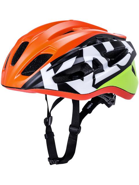 Kali Therapy casco per bici Uomo arancione
